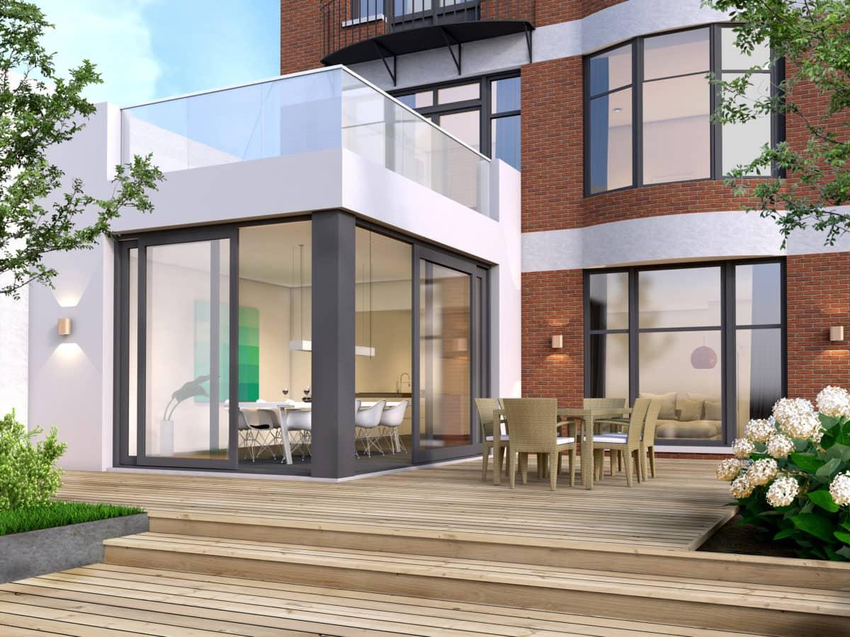 vergroten woonruimte met bijbouw