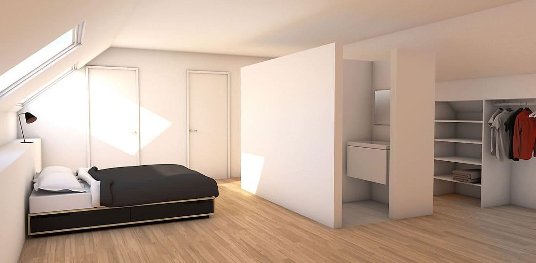 uitbreiding zolder met slaapkamer